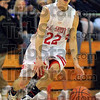 Recording artist: Terre Haute South's John Michael Jarvis<br /> hit 9 three-point shots in the Braves game against South Vermillion in the opening rpound of the Pizza Hut Classic Friday afternoon.