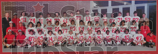 Undefeated: The 1973 Terre Haute South football team coached by Bob Clements, third row, second from left.