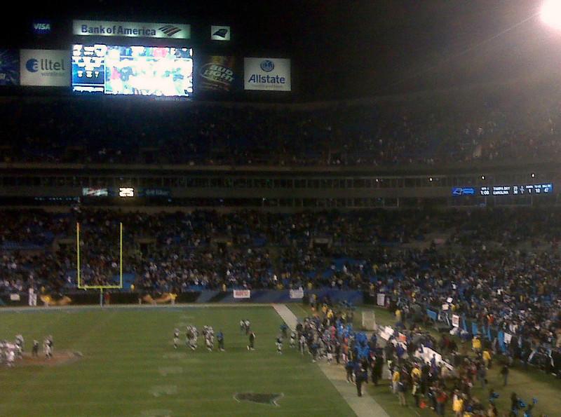 Panthers/Tampa Bay game