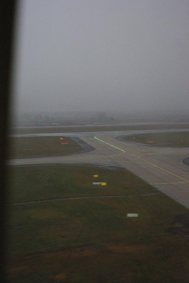 Landing... looks alot like Seattle.