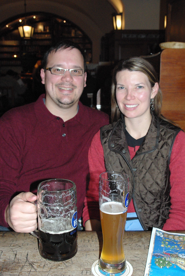 The beer was tasty and and the food was good.  Not to mention the fun people we met.