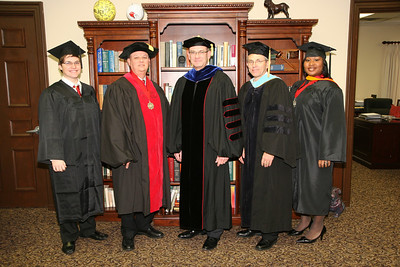 2008 winter graduation ceremony; December 15, 2008.