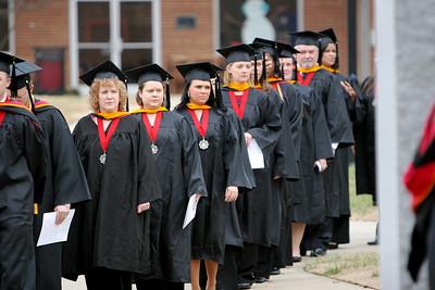 2008 winter graduation ceremony; December 15, 2008.