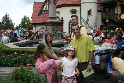 Disney Trip- Epcot Food/Wine Festival 10/08