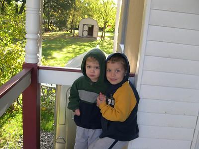 Dominic, Luke and Caeden