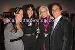 NEW YORK - OCTOBER 17: Jen Halpern, Kelly Corrado, Angela Dodson and James Cavello attend the Douglas Kirkland Photography Exhibition at The Westwood Gallery in New York City. (Photo by Steve Mack/ManhattanSociety) *** Local Caption *** Jen Halpern; Kelly Corrado; Angela Dodson; James Cavello