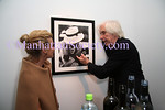 NEW YORK - OCTOBER 17: Ellen Komesarook and Douglas Kirkland attend the Douglas Kirkland Photography Exhibition at The Westwood Gallery in New York City. (Photo by Steve Mack/ManhattanSociety) *** Local Caption *** Ellen Komesarook; Douglas Kirkland