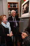 NEW YORK - OCTOBER 17: Glitterati Incorporated Publisher Marta Hallet and Douglas Kirkland attends the Douglas Kirkland Photography Exhibition at The Westwood Gallery in New York City. (Photo by Steve Mack/ManhattanSociety) *** Local Caption *** Marta Hallet; Douglas Kirkland