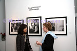 NEW YORK - OCTOBER 17: Margarite Almeida and Glitterati Incorporated Publisher Marta Hallet attends the Douglas Kirkland Photography Exhibition at The Westwood Gallery in New York City. (Photo by Steve Mack/ManhattanSociety) *** Local Caption *** Margarite Almeida; Marta Hallet