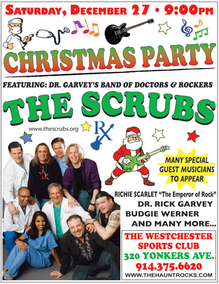NEW YORK-DECEMBER 27:  Dr. Garvey & The Scrubs Annual Christmas Show at  The Westchester Sports Club, 320 Yonkers Ave, Yonkers, New York on  Saturday, December 27, 2008 (Photo Credit: Christopher London/ManhattanSociety.com)