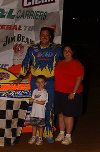 Shane Clanton in Victory Lane