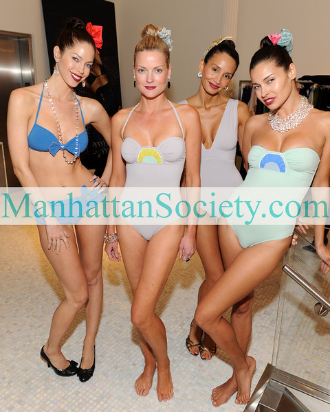 NEW YORK-OCTOBER 29: Candy Models attend Gotham Magazine Celebration of The 2009 Eres Swimwear and Lingerie Collection at SICIS-The Art Factory, 470 Broome Street, New York City, NY on Wednesday, October 29, 2008 (Photo Credit: Gregory Partanio/ManhattanSociety.com)