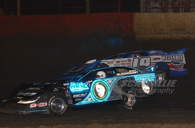 Scott Bloomquist and Steve Francis