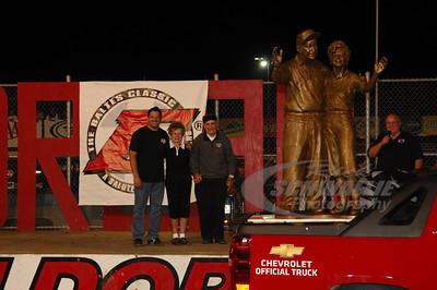 Earl & Bernice Baltes with Tony Stewart