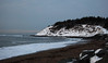 The Head of Lawrencetown Beach where the surfers go.