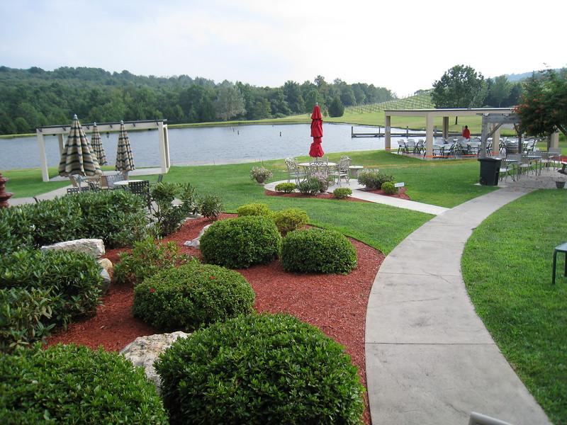 Gardens at Stone Villa Wine Cellars, Acme, PA