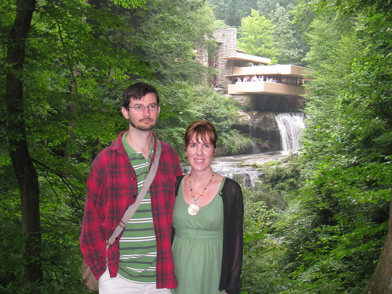 Fallingwater with Charles and Liz