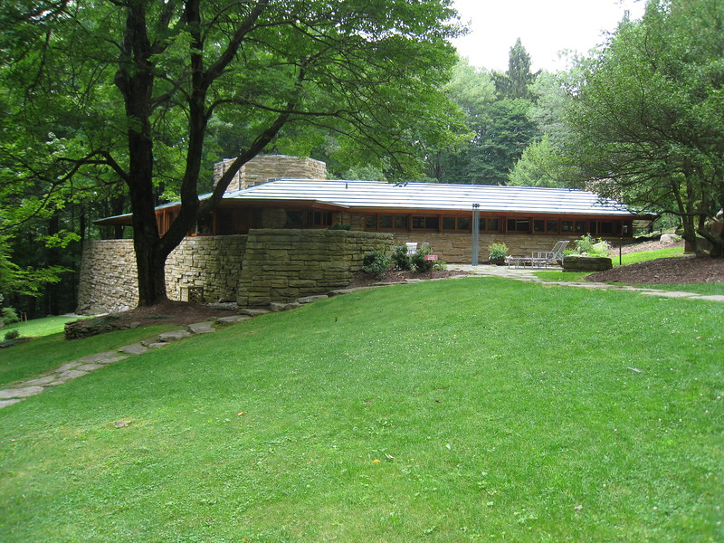 Kentuck Knob house by Wright