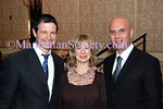 Andy Stenzler, Betsy Seidman, Dario Gristina attend Fountain Gallery's Seventh Annual Celebration of Life benefit, on November 10, 2008, at the Grand Hyatt New York 109 East 42nd Street <br /> (Photo Credit: Stuart Rinzler/ManhattanSociety.com)
