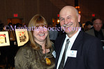 Pauline Anderson and Kenn Dudek, (Foutain House President) attend the Fountain Gallery Seventh Annual Celebration of Life benefit, on November 10, 2008, at the Grand Hyatt New York 109 East 42nd Street (Photo Credit: Stuart Rinzler/ManhattanSociety.com)