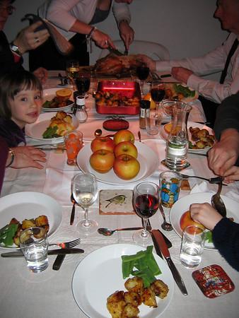 20081215 Christmas Dinner