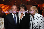 "NEW YORK-SEPTEMBER 18: Mayor Mike Bloomberg, Joan Collins, Liz Smith attend Fifth Annual ""Fete de Swifty"" to benefit The Family Justice Center Initiative of The Mayor's Fund to Advance New York City on East 73rd Street, Upper East Side of Manhattan, New York City on Thursday, September 18, 2008 (Photo Credit: Christopher London/ManhattanSociety.com)"
