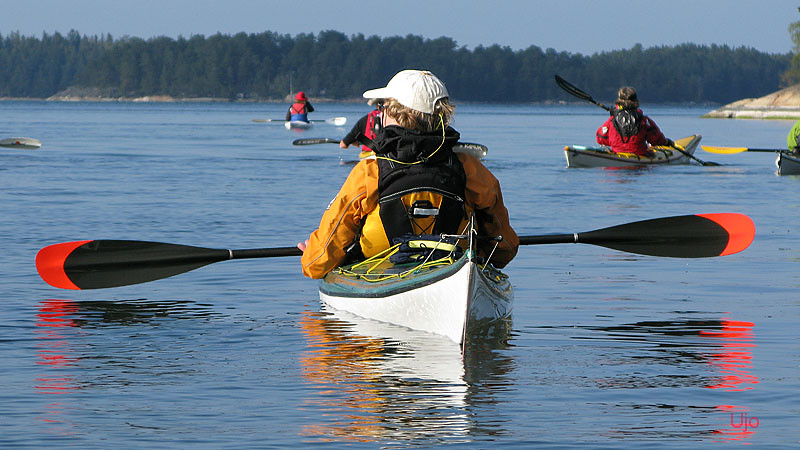 Stilla paddling