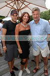 Greg Bello, Debbie McEneaney, Alec Baldwin           Friday August 15, 2008 First Pitch Cocktail Party to Celebrate Artists & Writers 60th Anniversary Softball Game