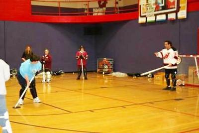 Floor Hockey Training
