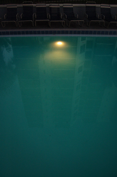 Meanwhile, Reflected in the Pool