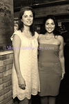 Violetta Bitici, Josephine Zohny attend Food Network's New York City Wine and Food Festival Dinner at MACELLERIA with SUZY SIRLOIN on Thursday, October 9, 2008, MACELLERIA Restaurant, A Rustic Italian Steakhouse, 48 Gansevoort Street in the Meatpacking District, New York City, NY  (Photos by Gregory Partanio ©2008 ManhattanSociety.com)