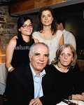 Chef/Owner Sergio Bitici and Bitici family attend Food Network's New York City Wine and Food Festival Dinner at MACELLERIA with SUZY SIRLOIN on Thursday, October 9, 2008, MACELLERIA Restaurant, A Rustic Italian Steakhouse, 48 Gansevoort Street in the Meatpacking District, New York City, NY  (Photos by Gregory Partanio ©2008 ManhattanSociety.com)