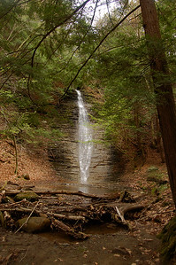 The Big Waterfall of Zoar Valley
