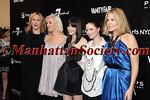 Amy Sacco, ?,Actress Michelle Monaghan, Georgina Chapman and Mary Alice Stephenson