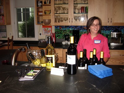 Assorted Virginia Wines, donated by Willis Logan of the Virginia Wine of the Month Club
