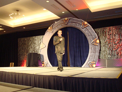 Allan welcoming us to Gatecon