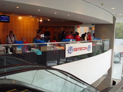 The registration table
