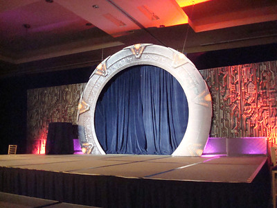 The convention stage