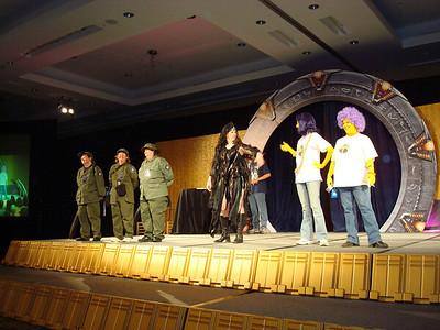 Costume contest.