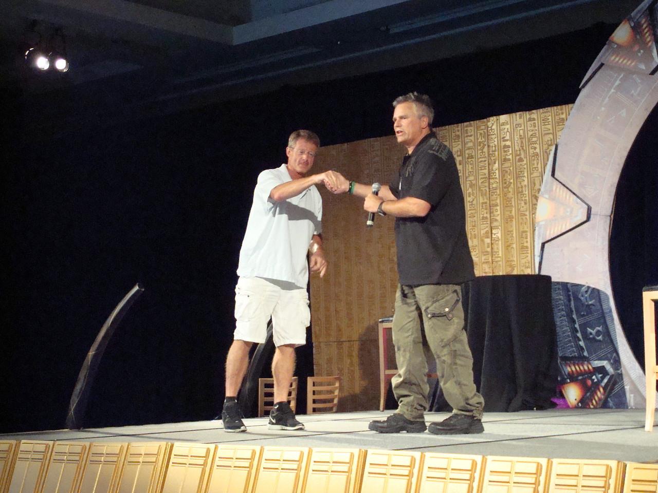 Dan Shea (Sgt. Siler and stunt guru), Richard Dean Anderson