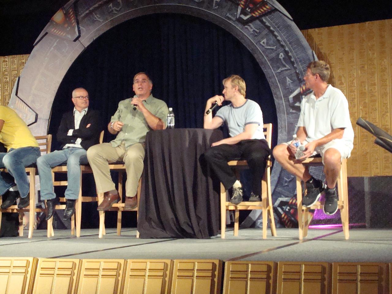 Gary Jones (Sgt. Walter Davis/Harriman), Gary Chalk (Colonel Chekhov), Dean Haglund (one of the Lone Gunmen from X-Files), Dan Shea (Sergeant Siler and stunt guru)