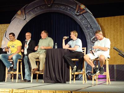 Dan Payne (Super Soldier, Wraith Warrior), Gary Jones (Sgt. Walter Davis/Harriman), Gary Chalk (Colonel Chekhov), Dean Haglund (one of the Lone Gunmen from X-Files), Dan Shea (Sergeant Siler and stunt guru)
