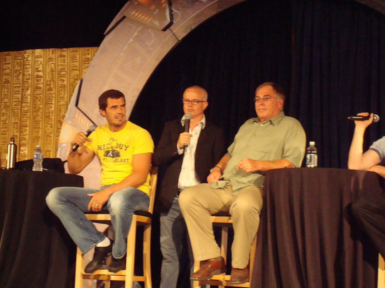 Dan Payne (Super Soldier, Wraith Warrior), Gary Jones (Sgt. Walter Davis/Harriman), Gary Chalk (Colonel Chekhov)