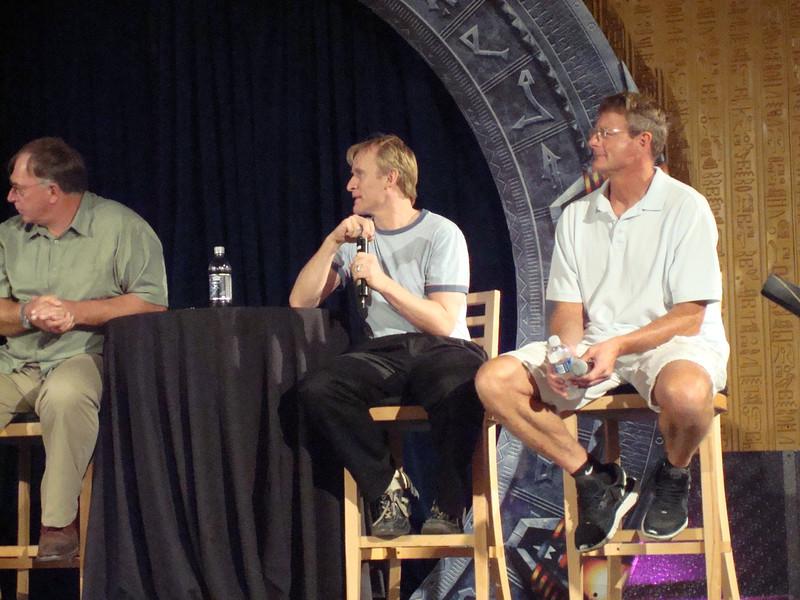 Gary Chalk (Colonel Chekhov), Dean Haglund (one of the Lone Gunmen from X-Files), Dan Shea (Sergeant Siler and stunt guru)