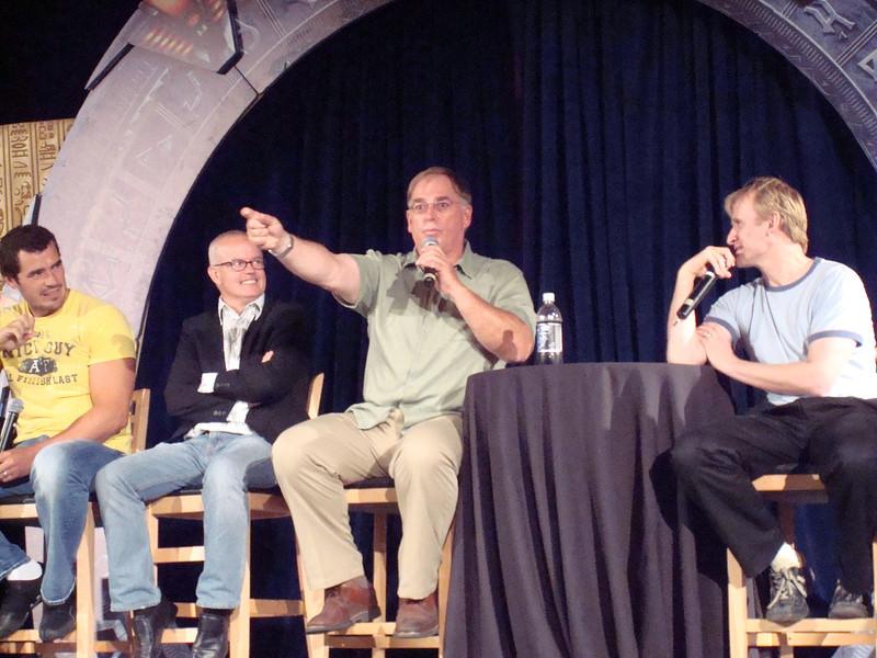 Dan Payne (Super Soldier, Wraith Warrior), Gary Jones (Sgt. Walter Davis/Harriman), Gary Chalk (Colonel Chekhov), Dean Haglund (one of the Lone Gunmen from X-Files)