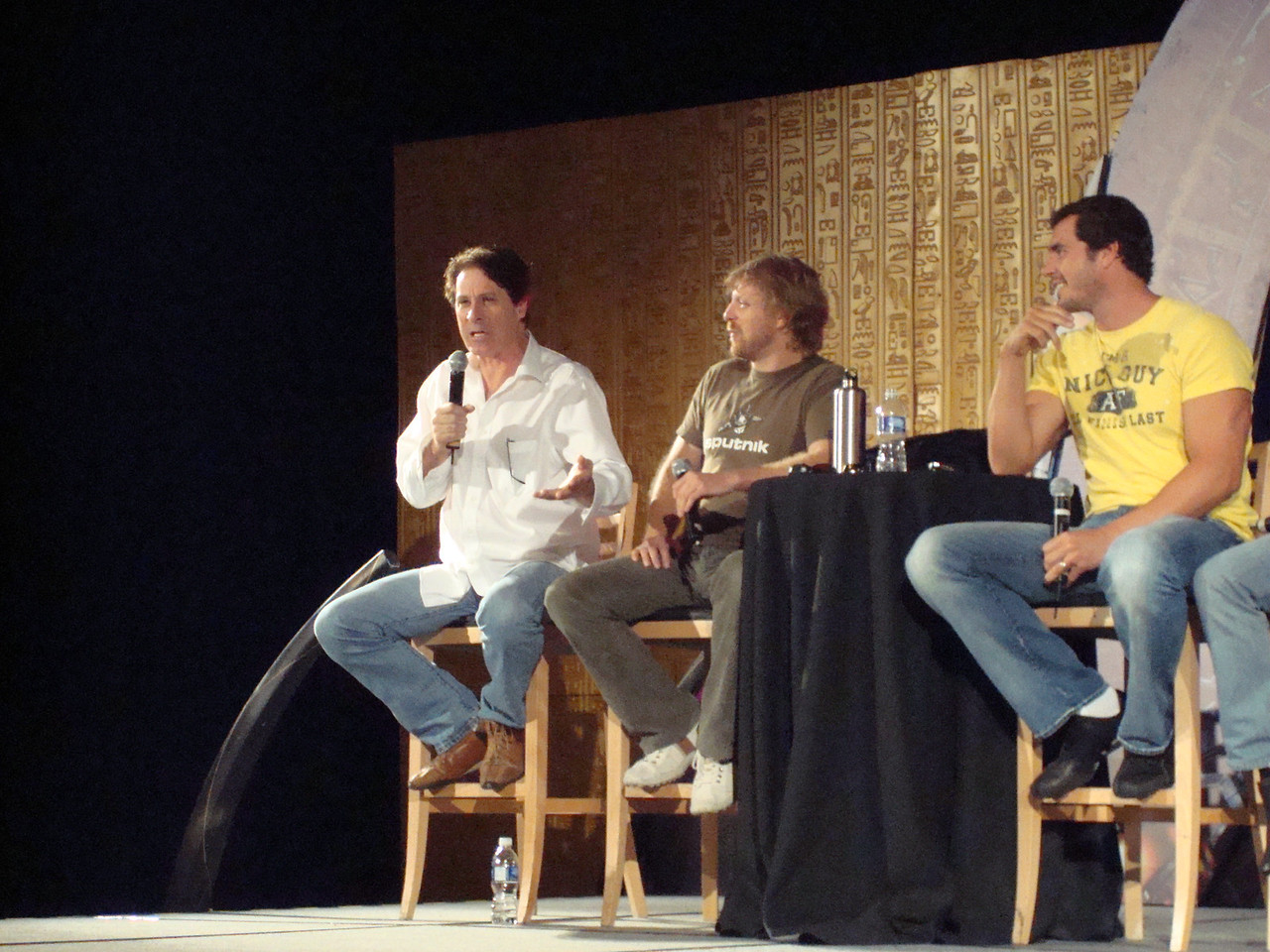 Garwin Sanford (Narim, Simon Wallis), Alex Zahara (a bunch of different Stargate characters), Dan Payne (Super Soldier, Wraith Warrior)