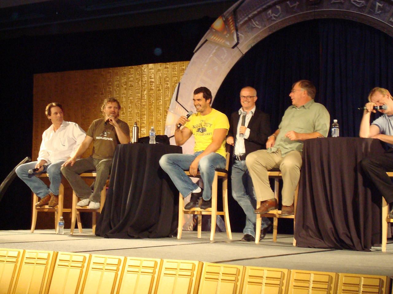 Garwin Sanford (Narim, Simon Wallis), Alex Zahara (a bunch of different Stargate characters), Dan Payne (Super Soldier, Wraith Warrior), Gary Jones (Sgt. Walter Davis/Harriman), Gary Chalk (Colonel Chekhov), Dean Haglund (one of the Lone Gunmen from X-Files)