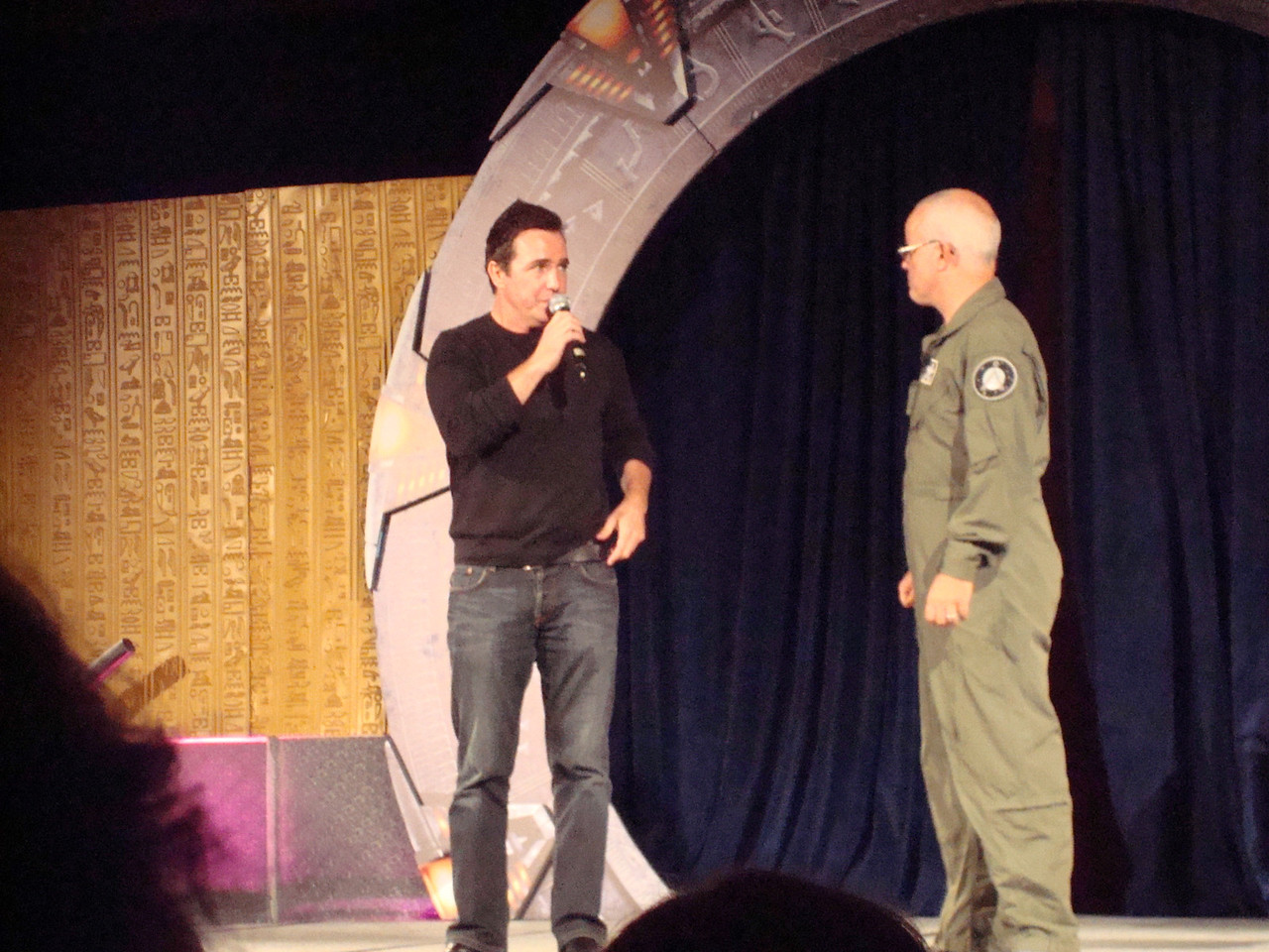 Starhole (play/improv thing). Paul McGillion, Gary Jones.