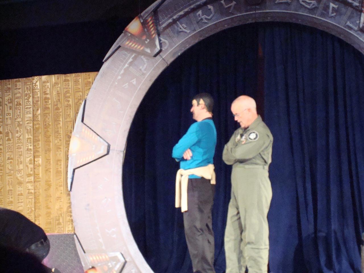 Starhole (play/improv thing). Dean Haglund, Gary Jones.