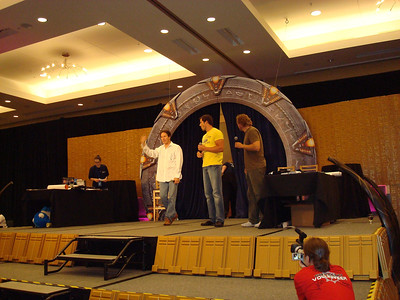 Auction. Garwin Sanford (Narim, Simon Wallis), Dan Payne (Super Soldier, Wraith Warrior), Alex Zahara (a bunch of different Stargate characters)